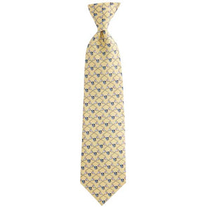 Vineyard Vines Hopkins Lacrosse Tie Yellow