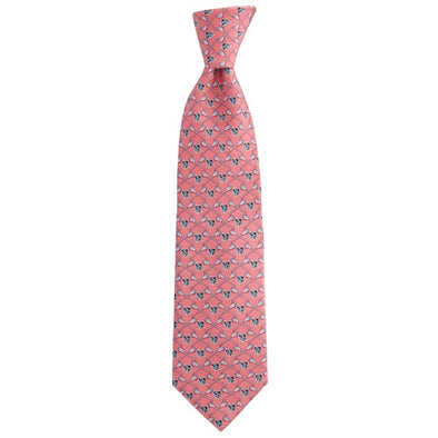 Vineyard Vines Hopkins Lacrosse Tie Raspberry