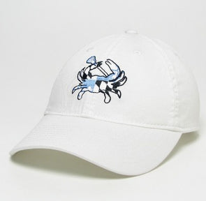 Legacy Youth Lacrosse ''Crab'' Hat White