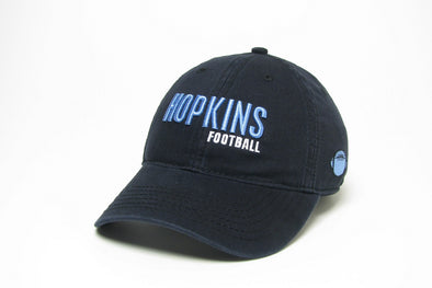 Legacy ''Hopkins Football'' Hat Black