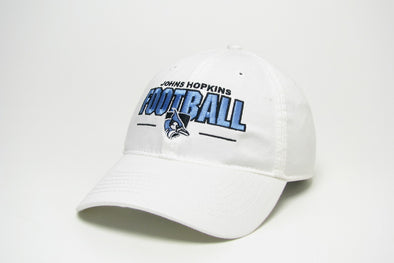 Legacy ''Johns Hopkins Football'' Hat White