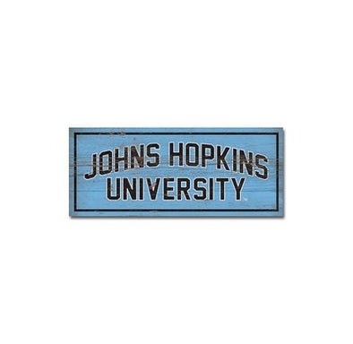 Legacy ''Johns Hopkins University'' Tabletop Piece