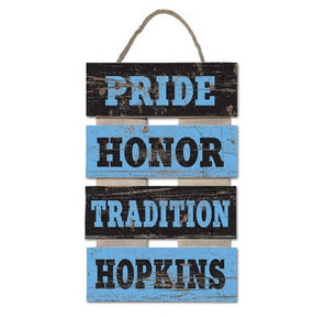 LegacyHome ''Pride, Honor, Tradition'' Wood Ladder