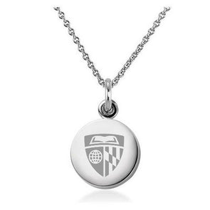 M. LaHart Sterling Silver Necklace with Silver Charm
