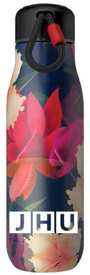 Nordic ''Zoku'' Stainless Steel Water Bottle Floral