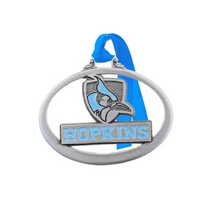 Hopkins Athletics Logo Pewter Ornament