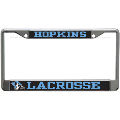 Hopkins Lacrosse Acrylic License Plate Frame