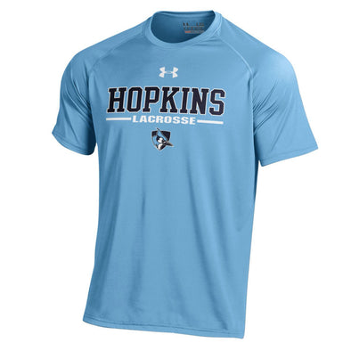 Under Armour Men's Short Sleeve Lacrosse Tech Tee Light Blue
