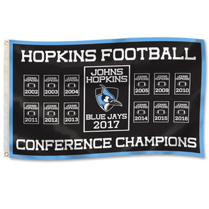 DuraWave Hopkins Football Conference Titles Flag