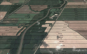 Google Earth Municipality or County Qtr Section Overlays MB SK AB