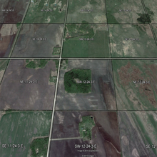 Load image into Gallery viewer, Google Earth Municipality or County Qtr Section Overlays MB SK AB