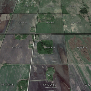 Google Earth Municipality Qtr Section Overlays ALBERTA ONLY
