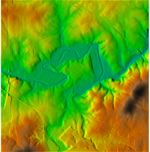 LiDAR Elevation Data (Up to One Section) Formatted for Ag Software - North Dakota