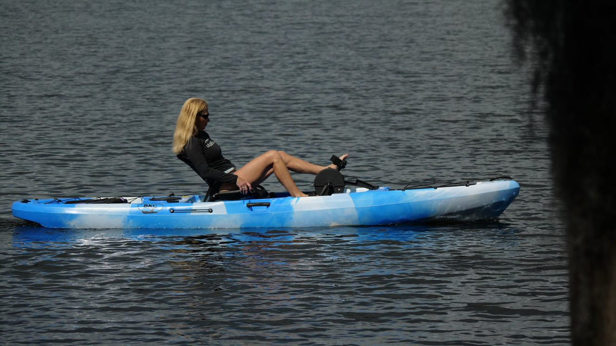kayaking for exercise