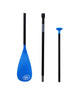 BKC fiberglass SUP 3 piece paddle with adjustable shaft and maximum stability