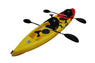 BKC TK181 Angler 12-foot, 8 inch Tandem 2 or 3 Person Sit On Top Fishing Kayak w/ Padded Seats and Paddles