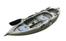 BKC FK184 9-foot Solo Sit on Top Angler Fishing Kayak w/ Memory Foam Seat and Paddle