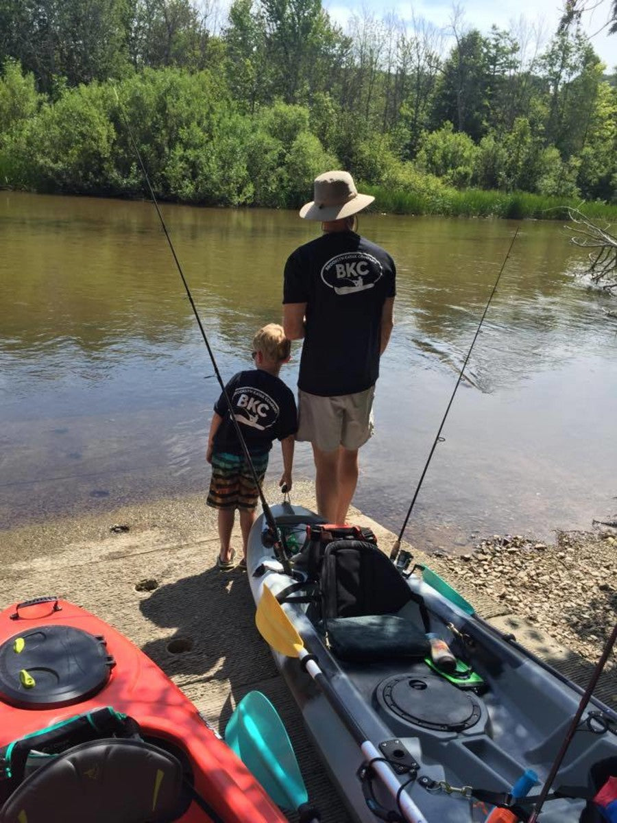 The Brooklyn Kayak Company Fishing TShirt is perfect for that #bkc fisherman!