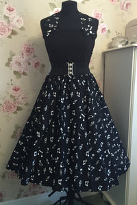 Peggy Circle Skirt- Music