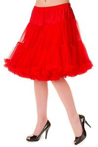 20 Inch Petticoat- Red