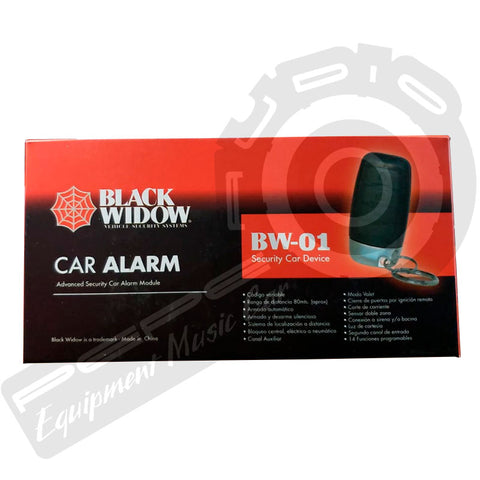 Alarma Black Widow BW-01