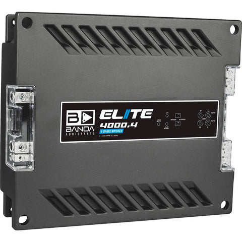 Amplificador Banda AudioParts ELITE 4000.4
