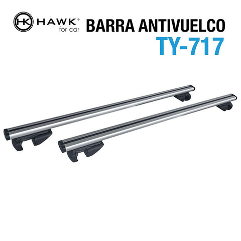 Barras Antivuelco Hawk TY-77 - KIT