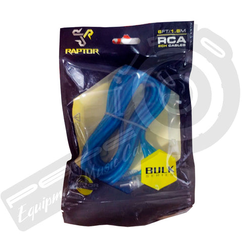 Cable RCA Raptor 1.8 mts