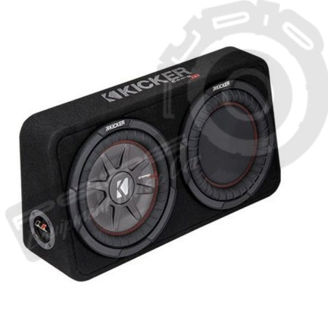 Caja Doble  Subwoofer  KICKER TCWRT104