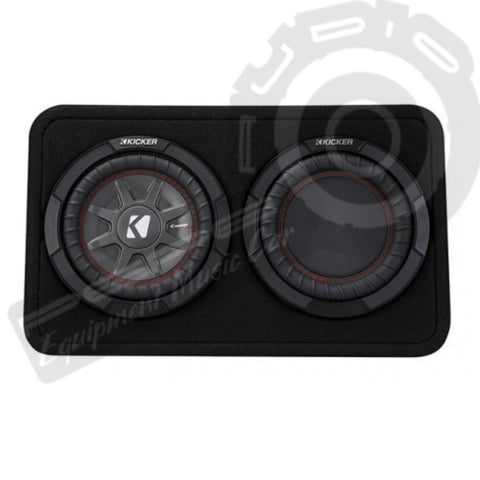Caja Doble  Subwoofer Kicker - TCWRT 82