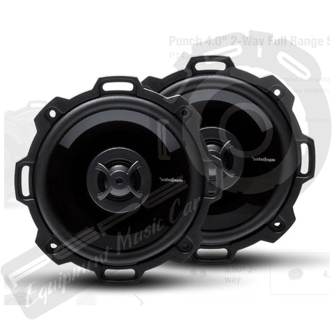 Parlantes Rockford Fosgate Punch P142 4""