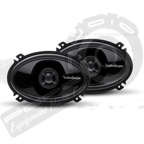 Parlantes Rockford Fosgate Punch P1462 4x6