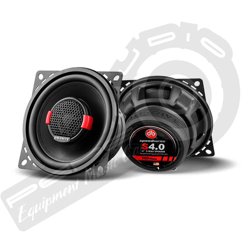 Parlantes DB Drive Speed Series S4-0 4, 2-WAY