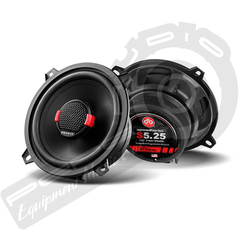 Parlantes DB Drive Speed Series S5-25 5,25″ 2-WAY Speaker