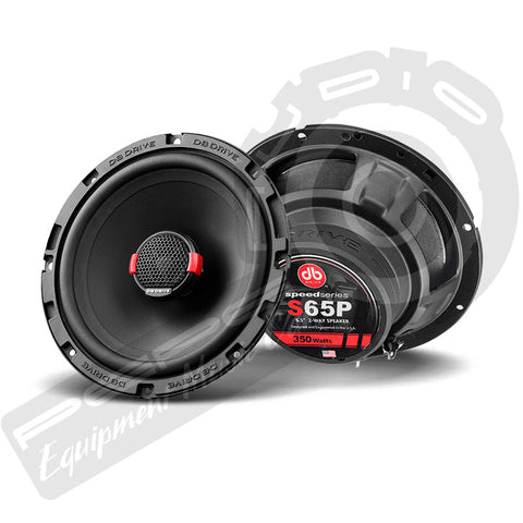 Parlantes DB Drive Speed Series High Power S65P 6,5″ 2-WAY