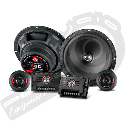 Componente DB Drive Speed Series S6C De 6.5 «/ 400Watts