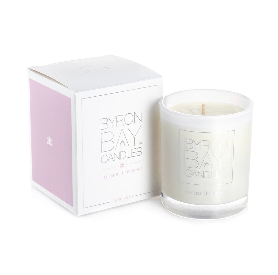Byron Bay Candle - Lotus Flower