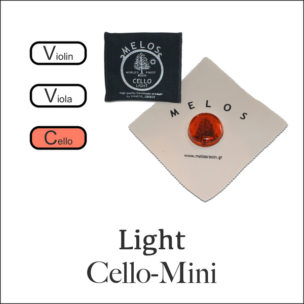 Melos Rosin Cello -Light Mini