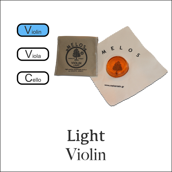Melos Rosin  Violin -Light