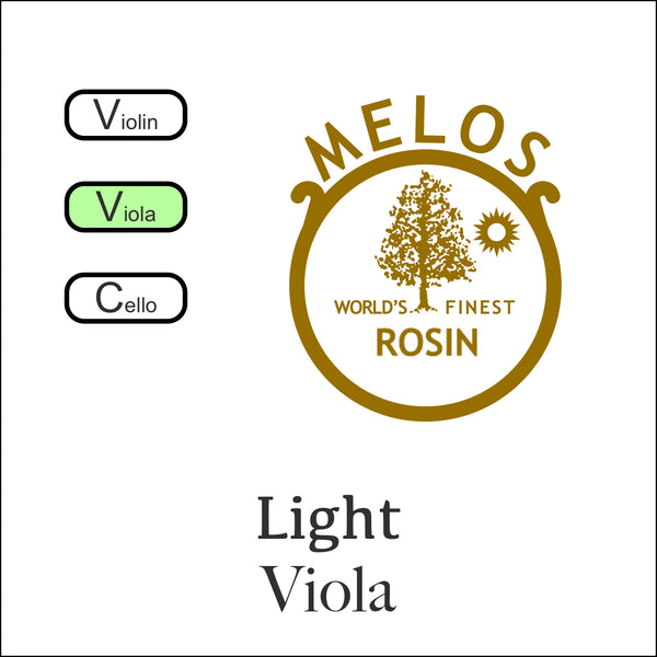 Melos Rosin Viola -Light