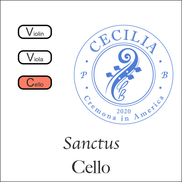 CECILIA Sanctus Cello