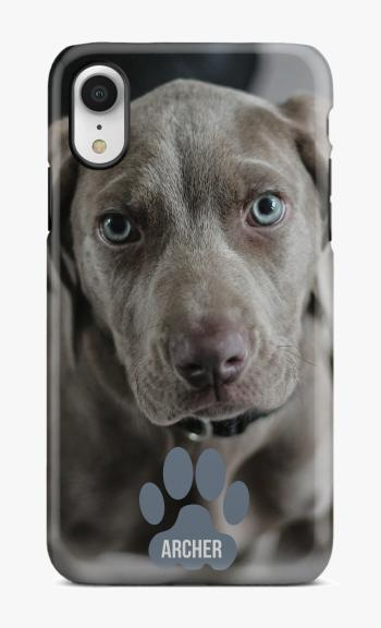 Dog with Name Demo Phone Case