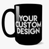 Custom Coffee Mug (Black)