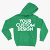 Custom Large Hoodie (Gildan 18500 Irish Green)