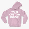 Custom Large Hoodie (Gildan 18500 Light Pink)