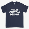 Custom Large T-Shirt (Gildan 2000 Navy)