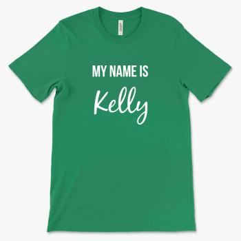 Personalized Example Kelly T-Shirt