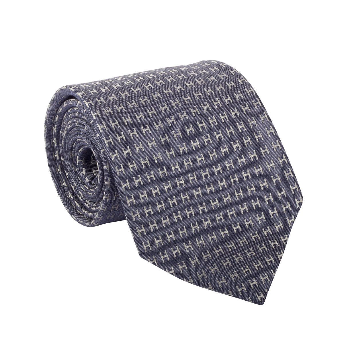 The Stylish Hermes Blue Tie