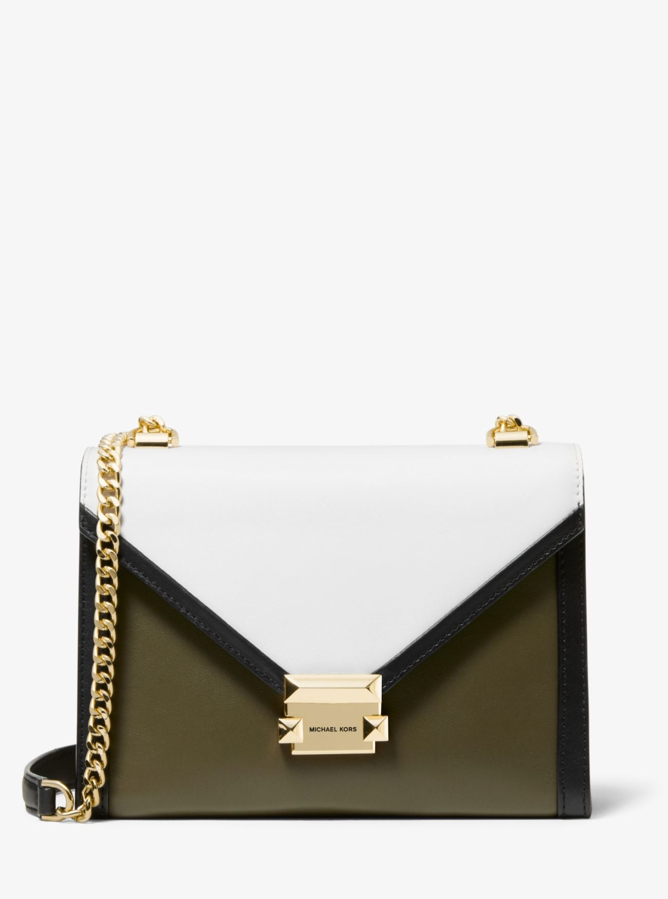 Michael Kors Whitney Tri-Colour Shoulder Bag