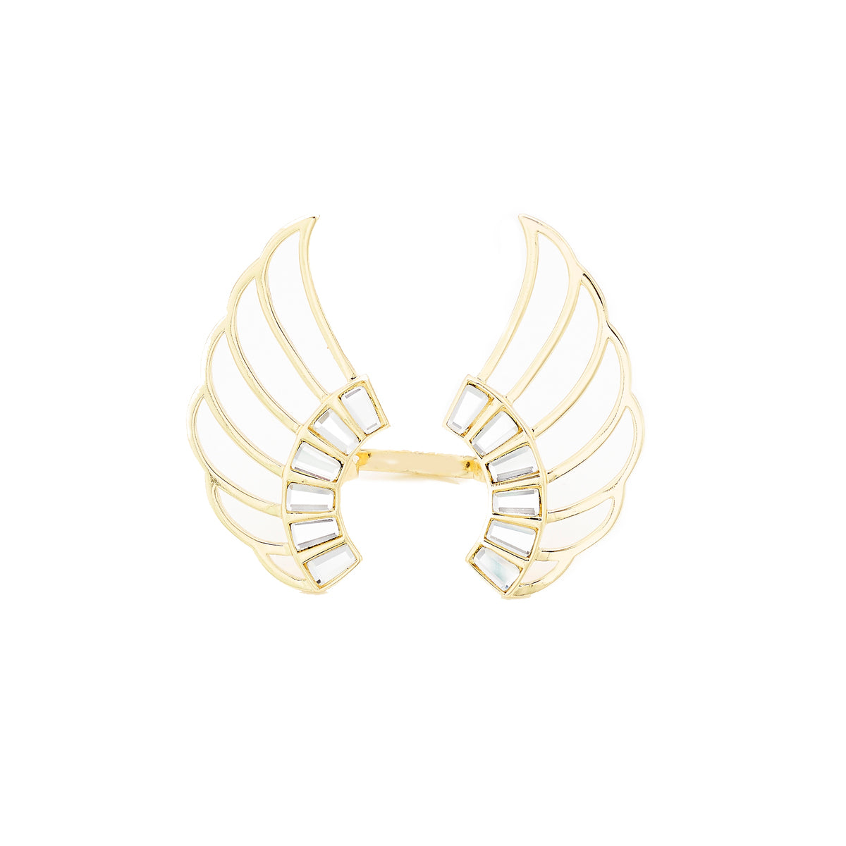 Angel Dust Wing Statement Ring